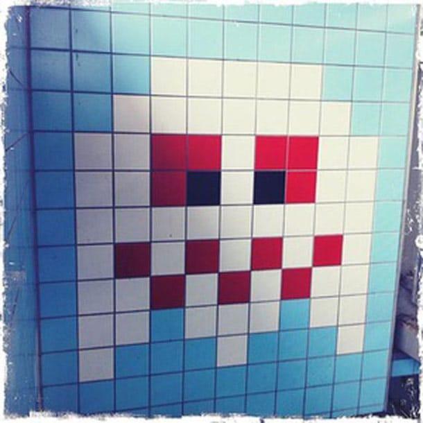 Retro 8-Bit Art In Stockholm