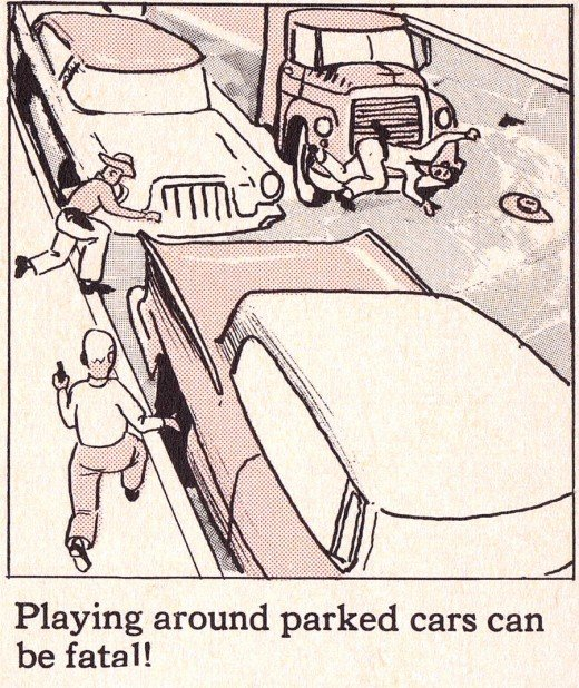 Retro Old School Safety Manual