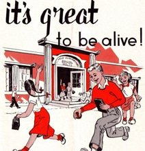 It's Great To Be Alive! Retro Safety Manual Uses Scare Tactics
