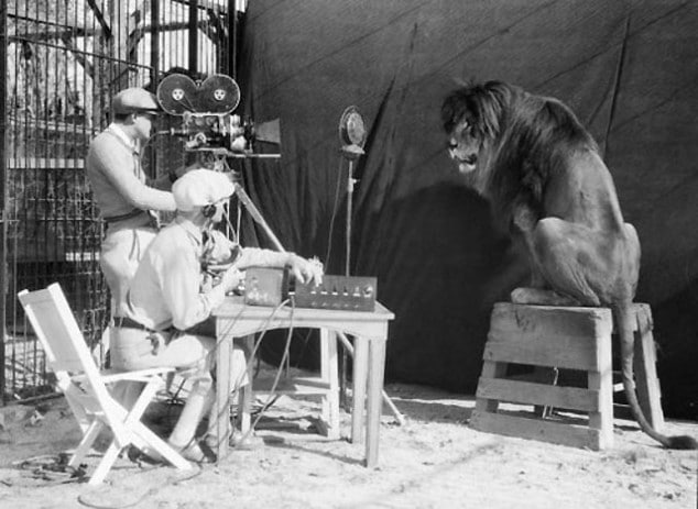 Shooting The MGM Logo Video