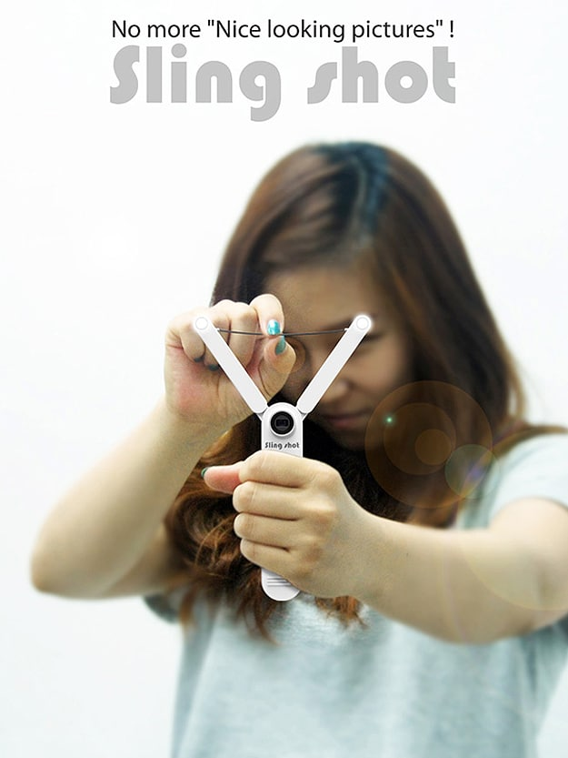The Sling Shot Camera: Make Your Photos Deviously Fun