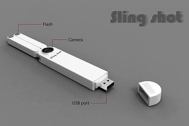 Slingshot Turned Into Camera