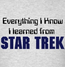 Star Trek Quiet Book: Teach Toddlers To Be Trekkies