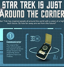 Star Trek Technology: It's Closer Than You Think [Infographic]