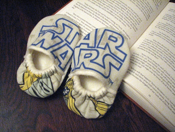 Infant Shoes Star Wars Etsy