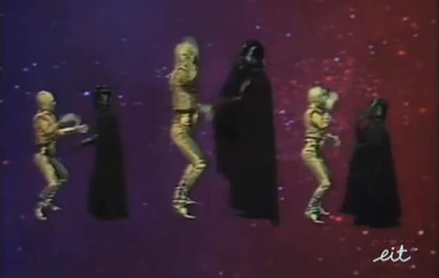Star Wars Disco Dancing Video