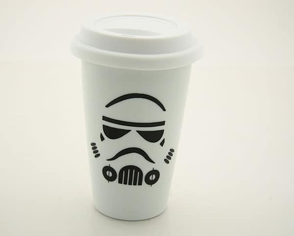 Stormtrooper Porcelain Travel Mug