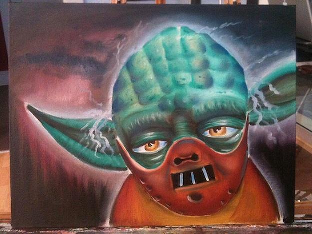 Yoda Hannibal Lecter Poster