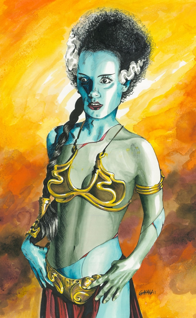 Princess Leia Star Wars Poster