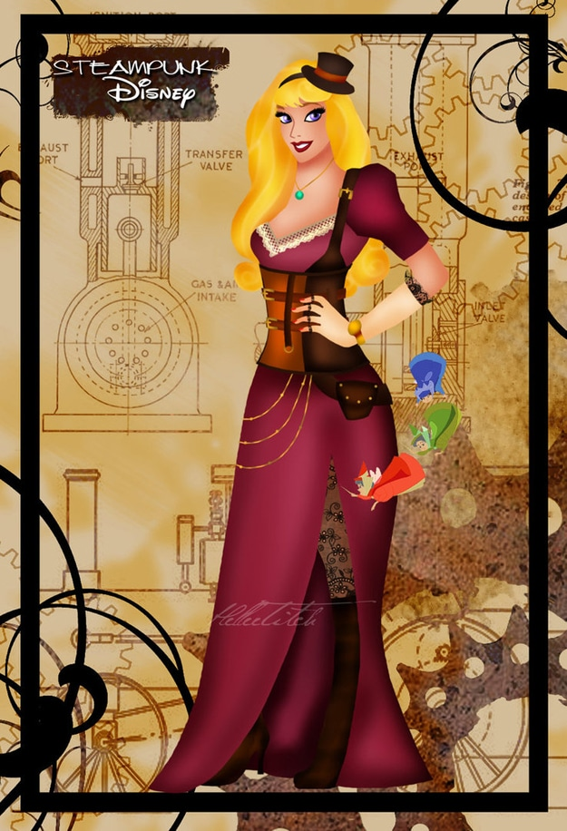 Disney Goes Steampunk On Deviantart