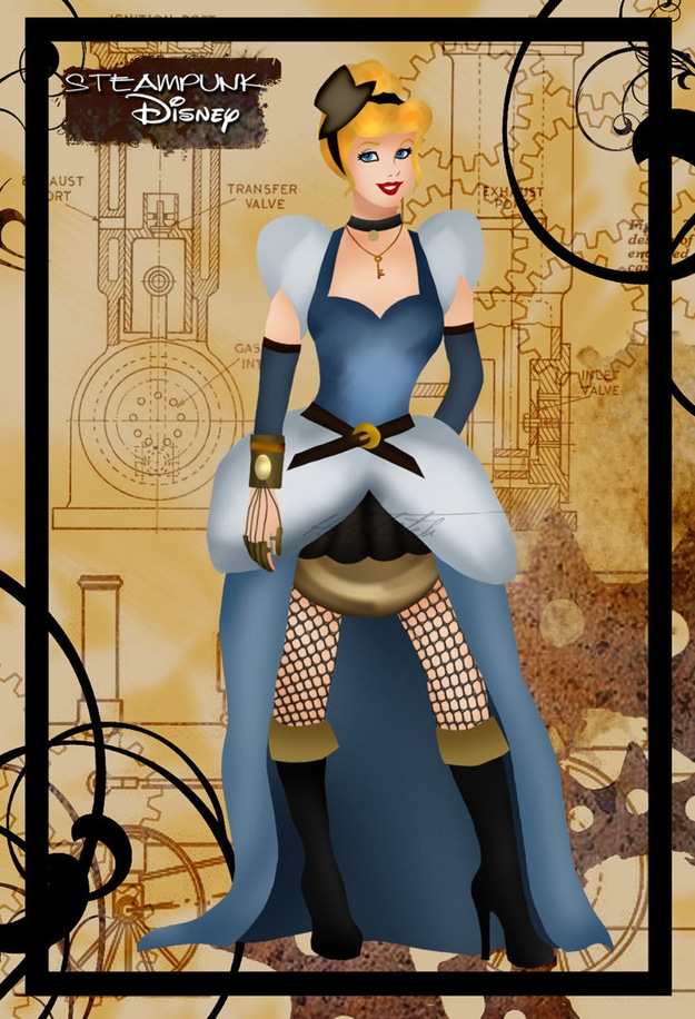 Cinderella Redesigned In Steampunk