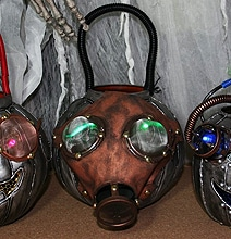 Brilliant Steampunk Trick Or Treat Buckets