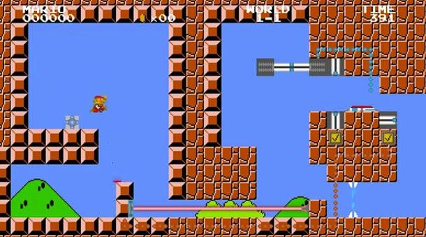 Super Mario Portal Actual Gameplay