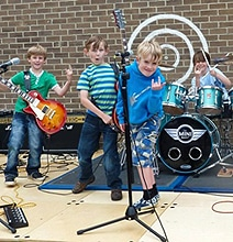 The Mini Band: A Talented Rock Group Made Up Of Children [Videos]