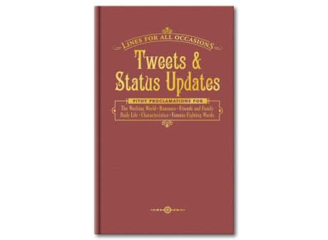 Tweets and Status Updates Book