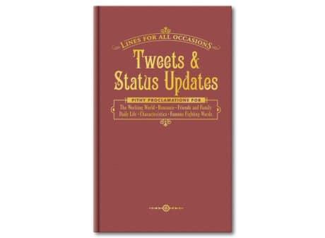 Tweets and Status Updates Book