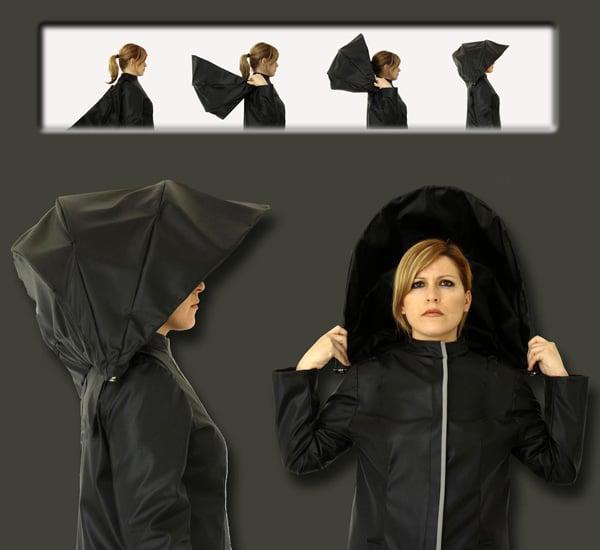 Umbrella Coat Concept Design Wear