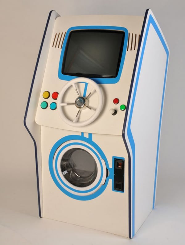 Arcade Game Does The Wash
