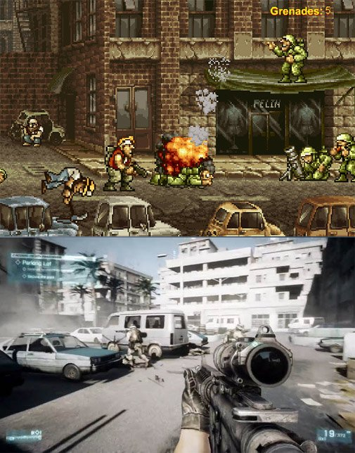 Video Games Now And Then
