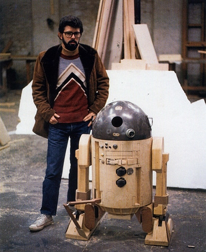 George Lucas R2-D2 Picture