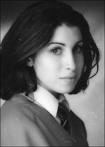 Amy Winehouse High School Picture
