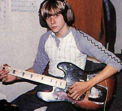 Kurt Cobain Playing Guitar