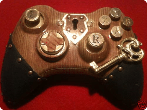 Steampunk Xbox 360 Controller Will Rejuvenate Your Gaming