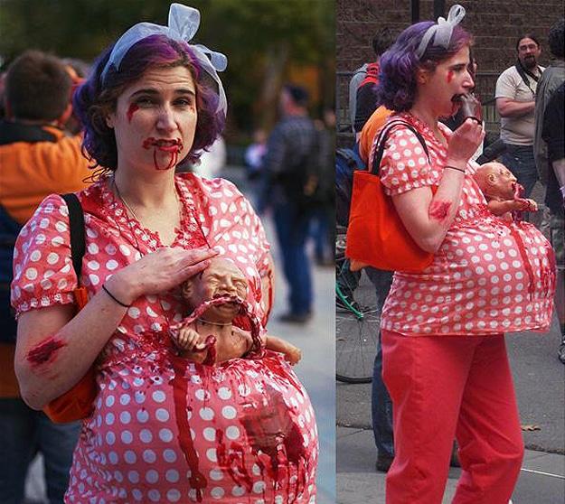 Halloween Disgusting Zombie Costumes