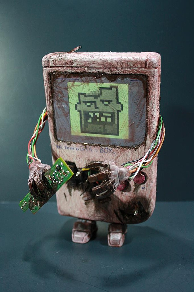 Custom Gameboy Zombie Mod Inspired By Captain N