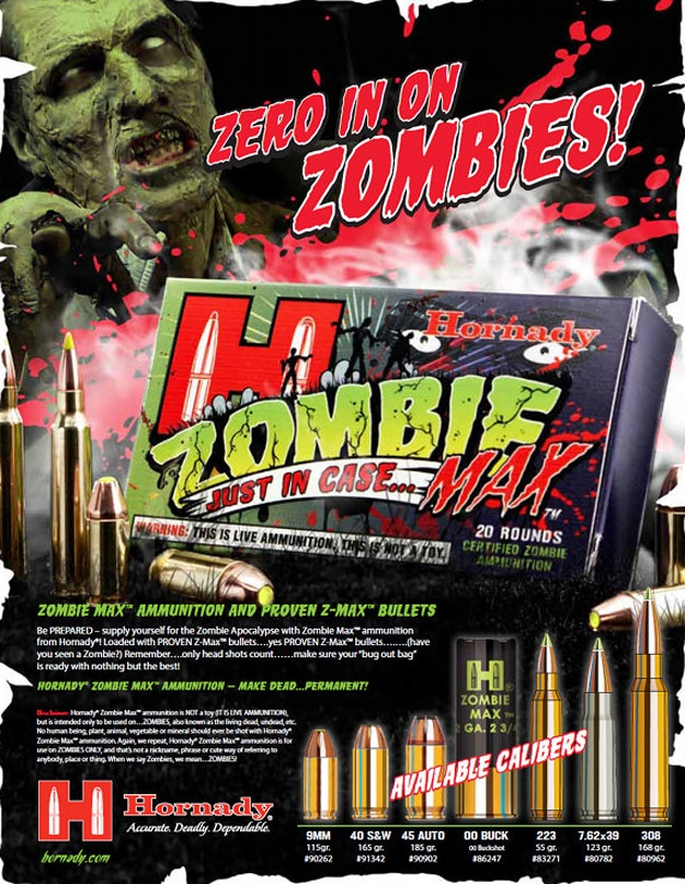 Bullets To Kill Zombies