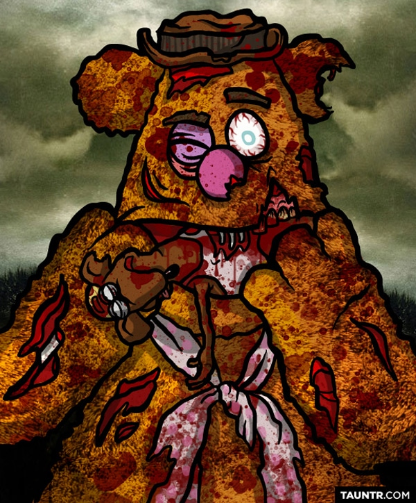 Fozzy The Bear As Zombie