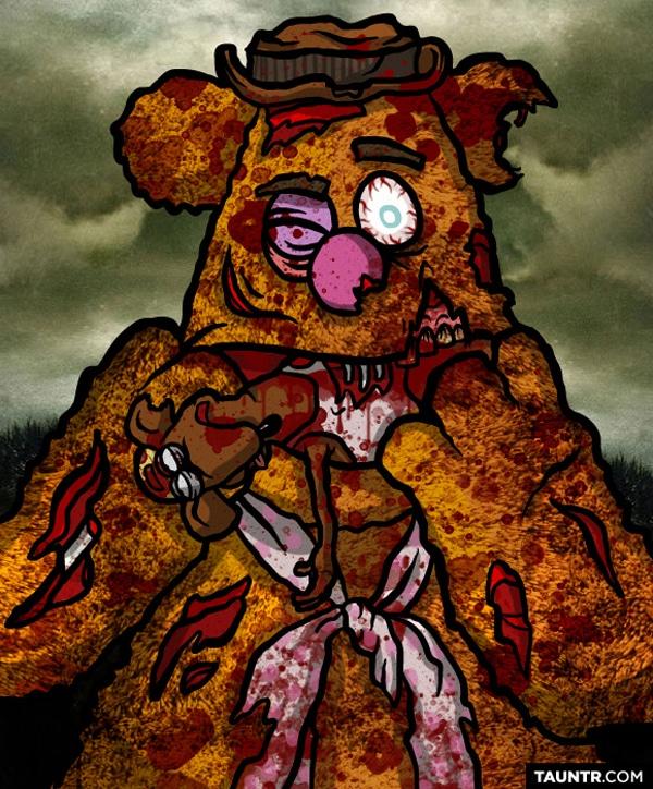 Fozzy The Bear As Zombie