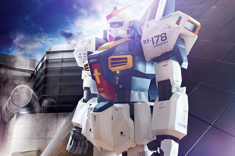 7 Foot Tall Papercraft Gundam