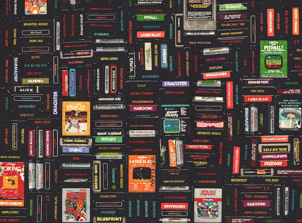 Atari Case Tapestry Art Collection