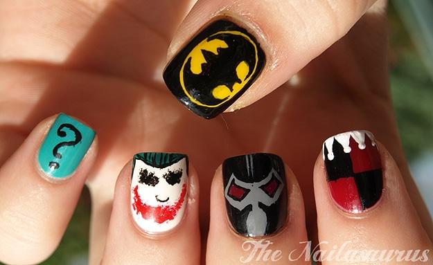 Comic Book Manicure Polish