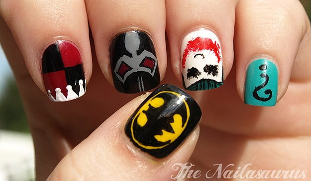 Comic Book Manicure Polish