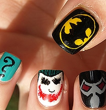 Comic Book Manicure Nail Polish