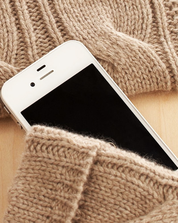 Cashmere iPhone & iPad Sweaters To Keep Your Gear Warm