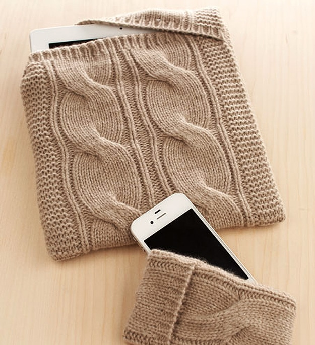 Cashmere iPhone And iPad Sweaters