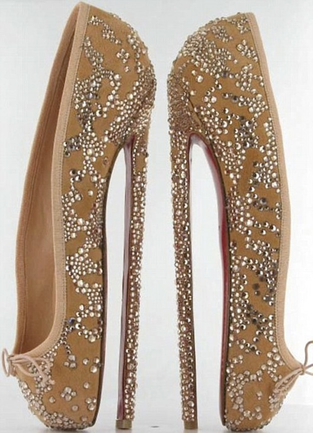 Eight Inch High Heel Shoes