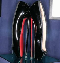 Christian Louboutin 8-Inch Heels: NSFT (Not Suitable For Toes)