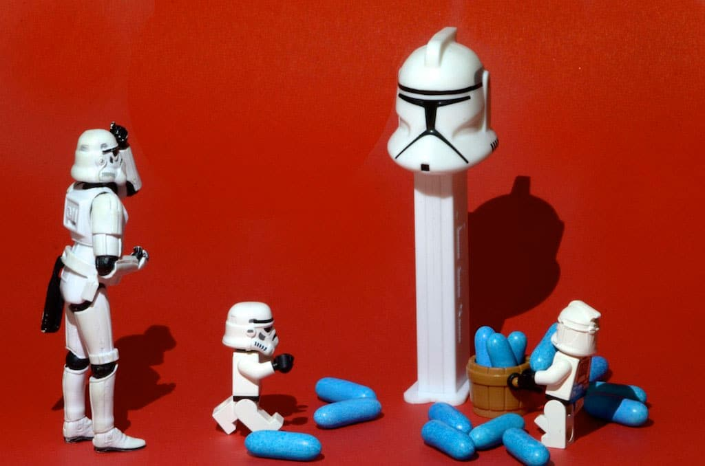Clone Stormtrooper Lifestyle Photography Series