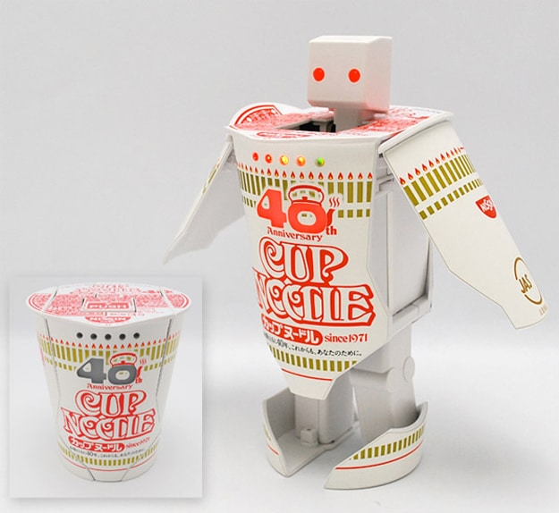 Cup Noodle Robotimer Transformer: You Didn't Know You Want This