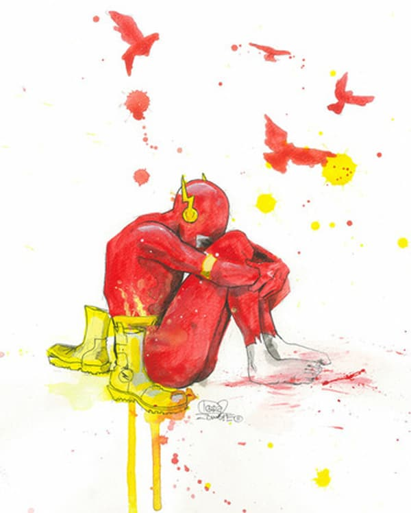 Grunge Art Sad Superheroes