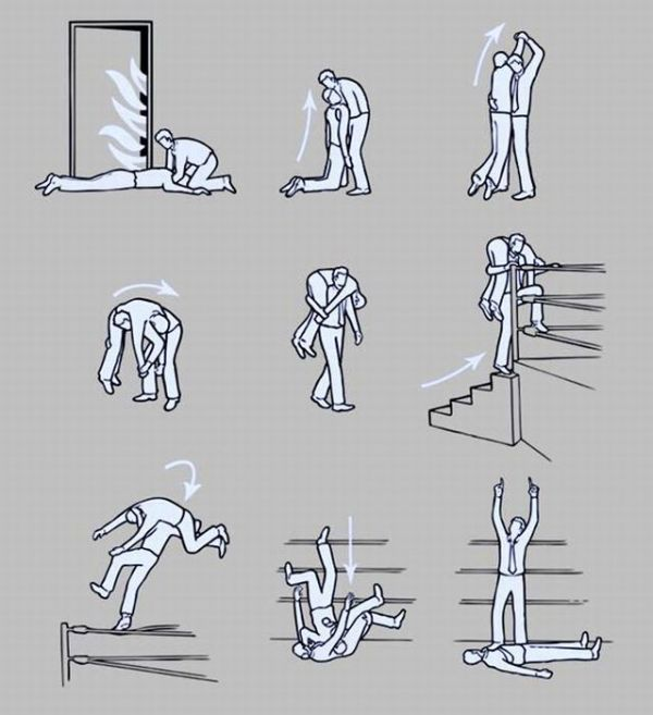 The Wrestling Approach To Fire Safety Is Way More Fun