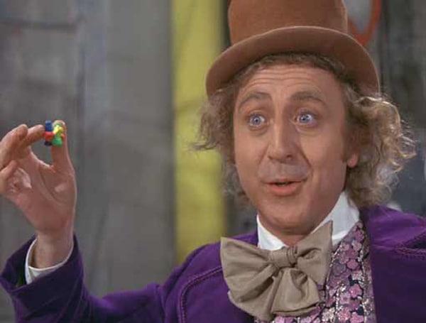 Willy Wonka Everlasting Gobstopper Origami