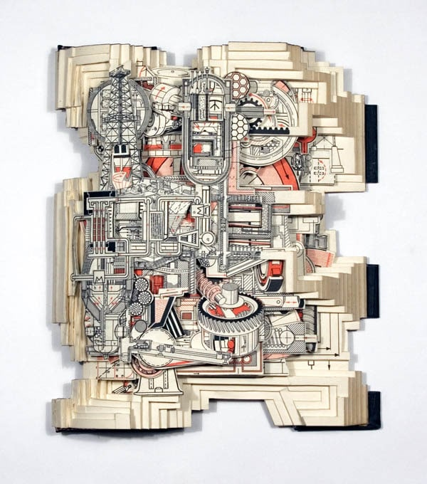 Extreme Cut Out Book Art