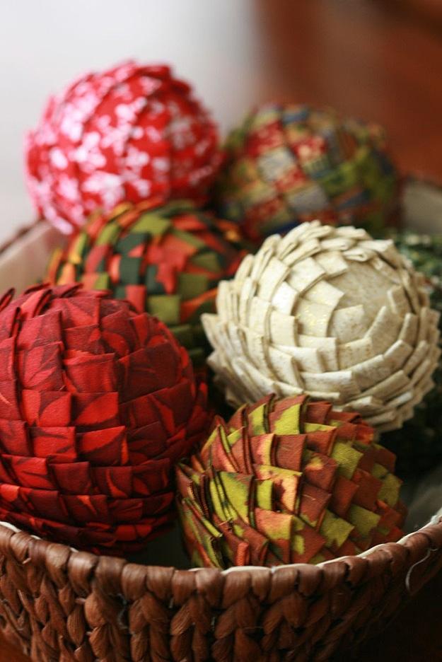 Make Pinecone Christmas Ornaments