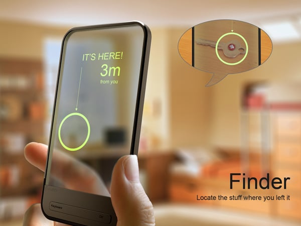 Finder: RFID Locator Finds Your Misplaced Keys
