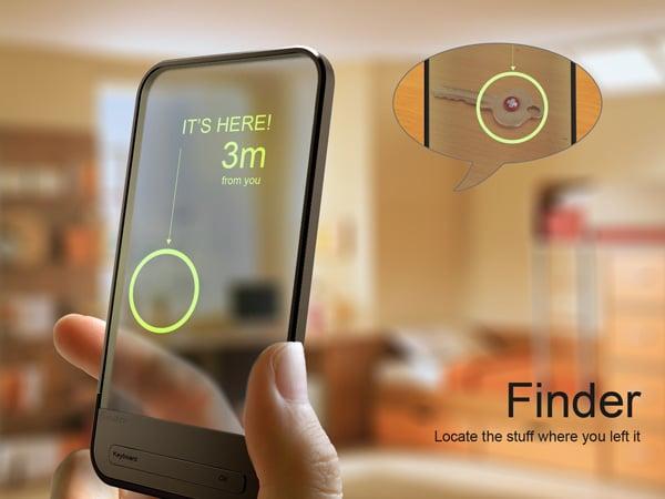 Finder Item And Gadget Locator